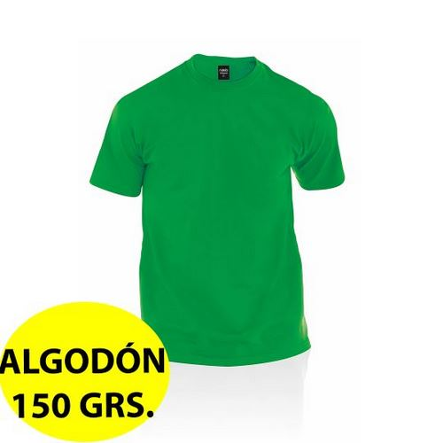 CAMISETA ALGODÓN 150 GRS. ADULTO COLOR PREMIUM