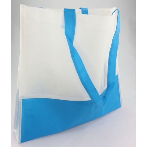BOLSA DE PLAYA BEACH NON WOVEN 6 COLORES COMBINADOS CON BLANCO