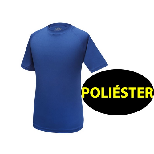 CAMISETA POLIESTER LIGHT D&F HOMBRE ROYAL