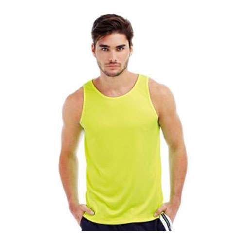 CAMISETA ATLETA ACTIVE SPORTS HOMBRE STEDMAN (BLANCO) (S-2XL)