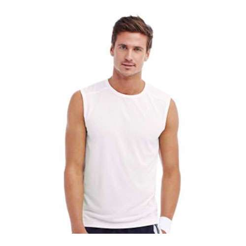 CAMISETA SIN MANGAS ACTIVE 140 HOMBRE STEDMAN (BLANCO) (S-2XL)