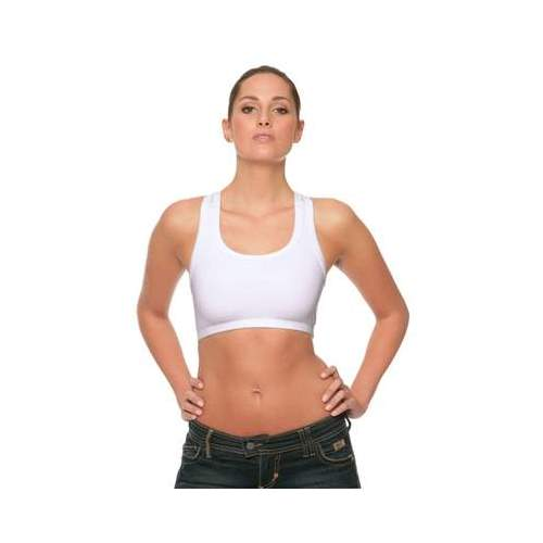 TOP DEPORTIVO NYLON SPANDEX BELLA (COLOR) (S-L)