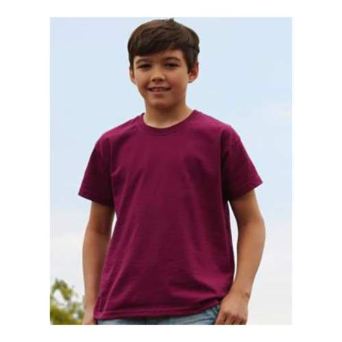 CAMISETA ORIGINAL NIÑO FRUIT OF THE LOOM (BLANCO) (104-164)