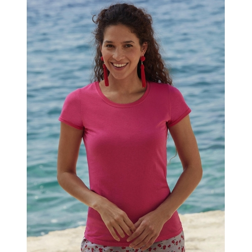 CAMISETA ORIGINAL LADY FIT FRUIT OF THE LOOM(BLANCO) (XS-2XL)