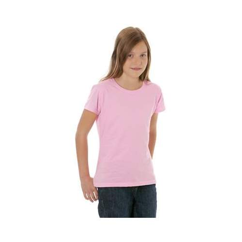 CAMISETA VALUEWEIGHT NIÑA FRUIT OF THE LOOM (BLANCO) (104-164)