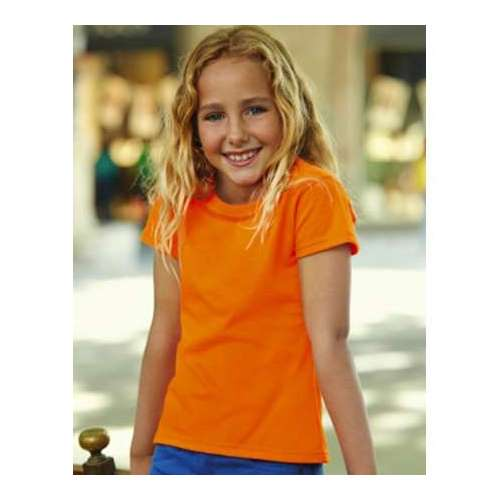 CAMISETA GIRLS SOFSPUN® T NIÑA FRUIT OF THE LOOM (BLANCO) (3-4?14-15)