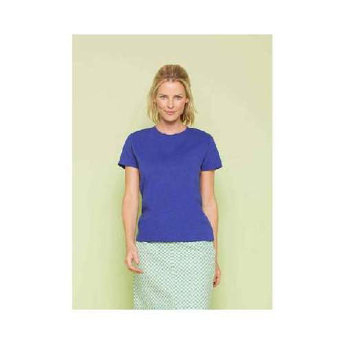 CAMISETA HEAVY COTTON MUJER GILDAN (BLANCO) (S-2XL)