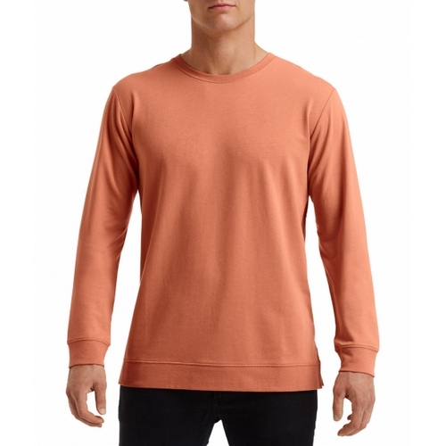 SUDADERA UNISEX LIGHT TERRY CREW ANVIL COLOR (XS-2XL)