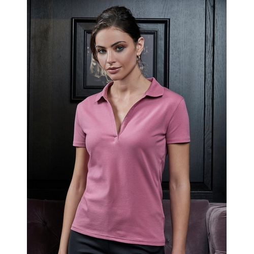 POLO LUXURY STRETCH MUJER TEE JAYS (COLOR) (S-3XL)