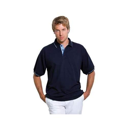 POLO PIQUÉ CUELLO RAYADO KUSTOM KIT (COLOR) (S-2XL)
