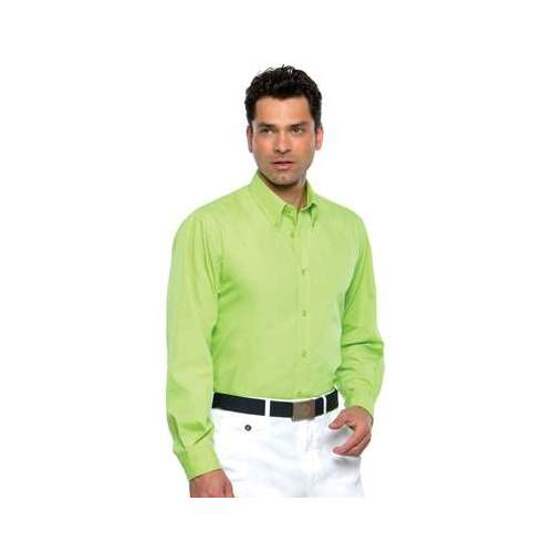 CAMISA WORKFORCE MANGA LARGA HOMBRE KUSTOM KIT COLOR (TALLAS: S-2XL)