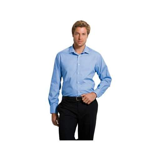 CAMISA BUSINESS AJUSTADA MANGA LARGA HOMBRE KUSTOM KIT COLOR (TALLAS: 14.5-18.5)