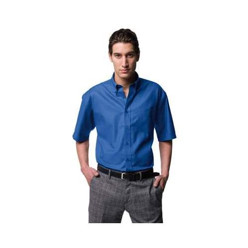 CAMISA OXFORD MANGA CORTA HOMBRE RUSSELL COLOR (TALLAS: S-6XL)