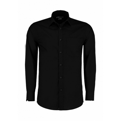 CAMISA THE POPLIN SHIRT LS KUSTOM KIT (BLANCO) (S-3XL)