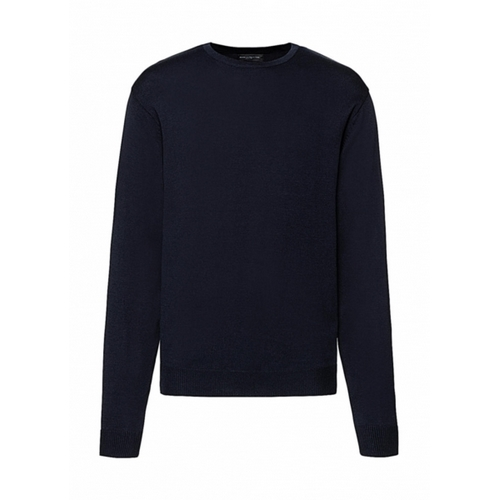 JERSEY HOMBRE CREW NECK KNITTED PULLOVER RUSSELL EUROPE (COLOR) (XXS-2XL)