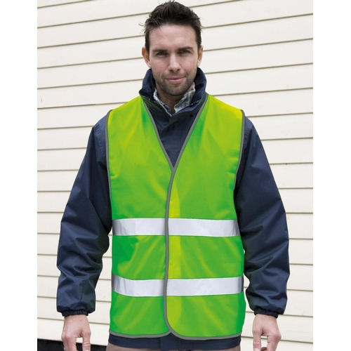 CHALECO DE SEGURIDAD CARRETERA CORE RESULT(COLOR) (S/M-2XL)