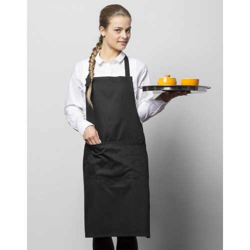 DELANTAL LISBON 100% COTTON BIB APRON BISTRO BY JASSZ (BLANCO) (TALLA UNICA)